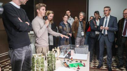 Rector KU Leuven bezoekt Gentse campus Sint-Lucas