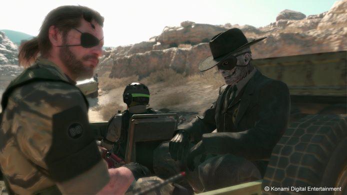 Beeld uit 'Metal Gear Solid V'.