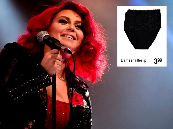 Roxeanne Hazes shopt haar ondergoed gewoon bij Zeeman.