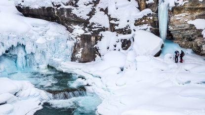 Bij ijswatervallen en oerossen