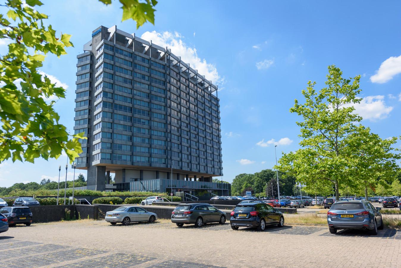 Het hoofdgebouw van Philips Benelux aan de Boschdijk.
