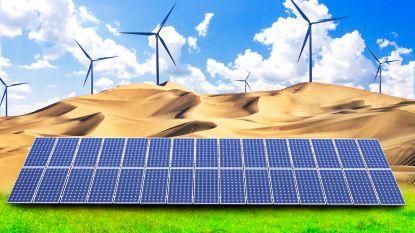 Zonnepanelen en windturbines zouden van Sahara deels groene oase kunnen maken