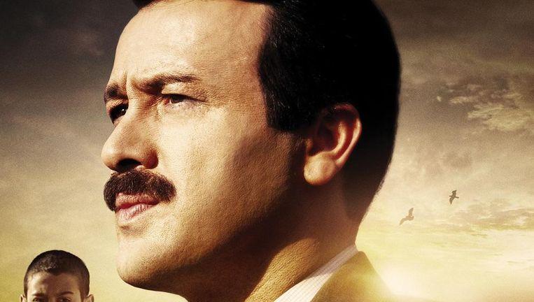 Filmposter van Reis, over het leven van de Turkse president Erdogan. Beeld
