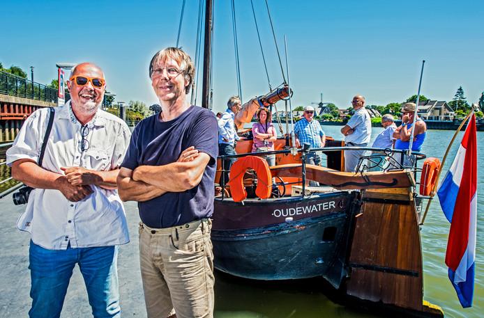 Projectleiders Rob Stolk en Wim Knol van de Hollandsche IJssel Armada.