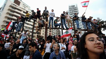 Hervormingen in Libanon na vier dagen van massaprotesten