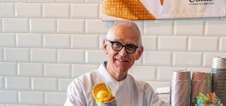 Bergse ijsverkoper Gerard Crusio geeft stokje door aan zoon: 'Een ijsje is altijd een feest'