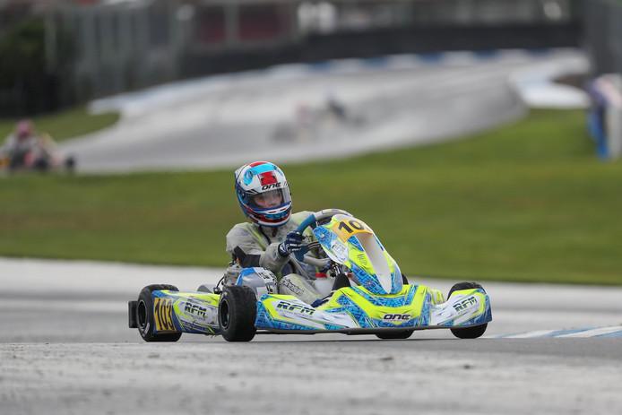 Thomas ten Brinke is wereldkampioen karten.