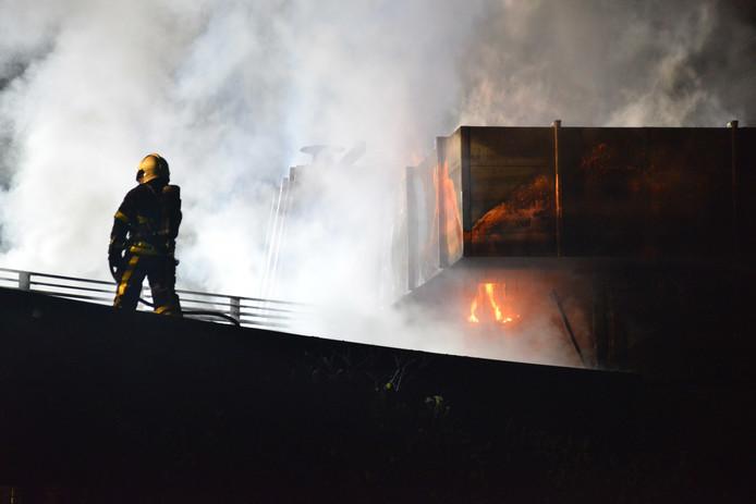 Brand in uitvaartcentrum Breda