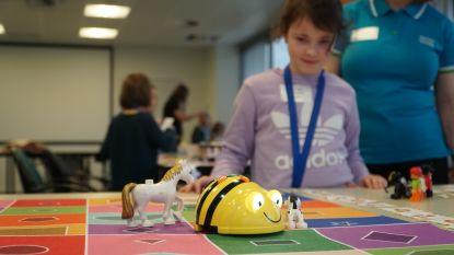 Deelnemende kinderen en jongeren aan STEM-event Techno Ninja's bij Atlas Copco verdubbeld