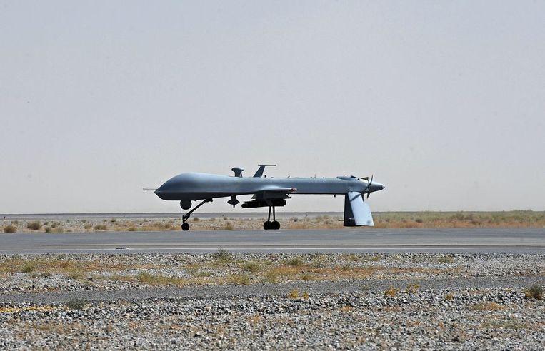 Jemenitische Houthirebellen willen stoppen met het afvuren van raketten en drones op Saudi-Arabië. Beeld ANP