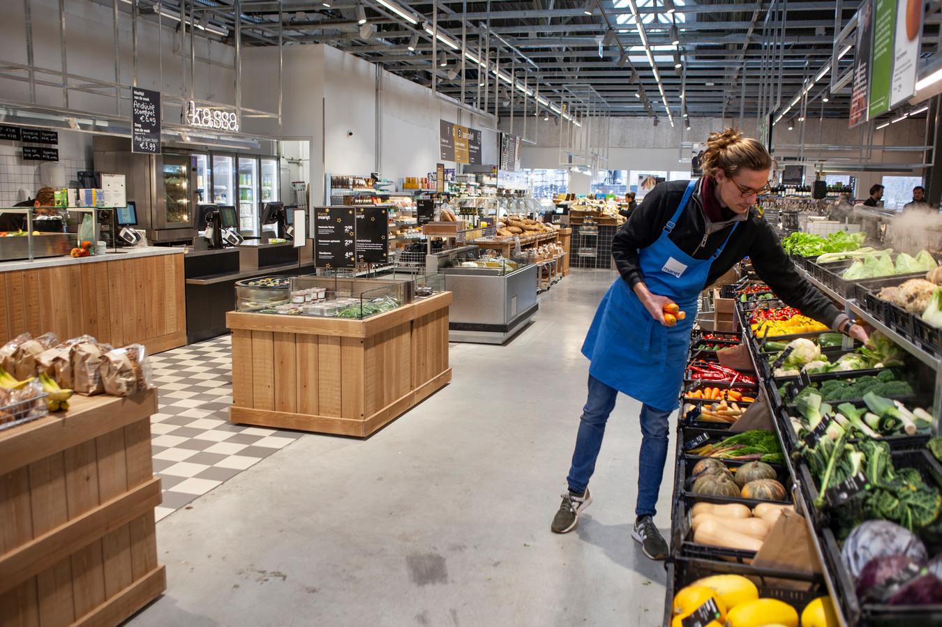 De vestiging van Marqt in winkelcentrum Brazilië in Oost is een voorbeeld van de kleinere buurtwinkels van Marqt.