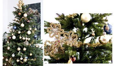 Een wondermooie kerstboom voor amper 24 euro dankzij de tips van interieurstyliste Clo Clo
