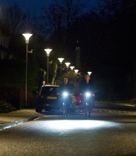 93 boetes voor fietsers zonder verlichting