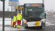 Helaas ook sneeuwellende: twee ongevallen met lijnbussen in één uur
