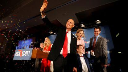 OVERZICHT. Democraten krijgen controle over Huis van Afgevaardigden, maar Republikeinen vergroten meerderheid in Senaat