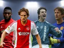 Deze acht spelers waren actief bij Ajax én Manchester United