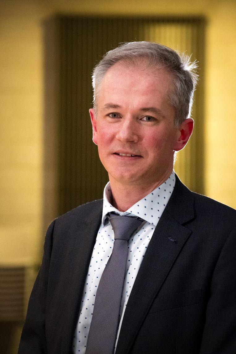 Jan Van de Vreken, korpschef van Klein-Brabant.