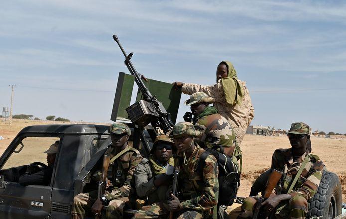 Nigeriaanse soldaten krijgen regelmatig te maken met aanvallen van Boko Haram.