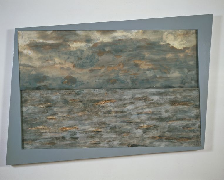 Ger van Elk: Kinselmeer, 1985.  Beeld Collectie Stedelijk Museum Amsterdam