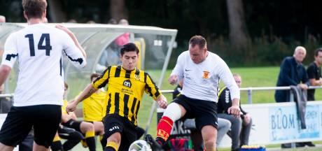 Zware blessure overschaduwt gelijkspel tussen Beekbergen en Apeldoornse Boys