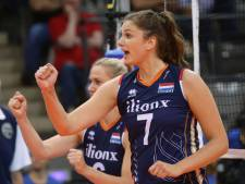 Uitgeschakelde volleybalsters verslaan Duitsland in Nations League