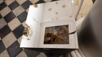 Rubens Re-viewed toont in brand verloren gegane plafondschilderijen van Rubens