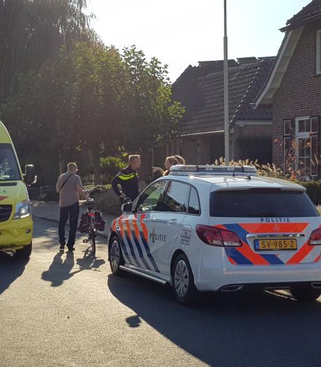 Fietsster gewond na aanrijding in Hummelo