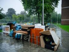 Deurwaarder zet inboedel in stromende regen op straat in Tilburg, kan dat zomaar?