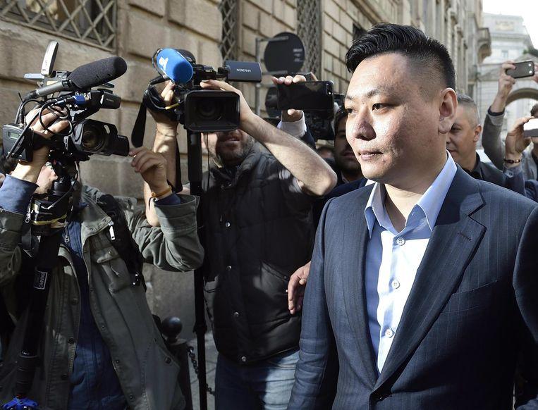 De Chinees David Han Li, één van de nieuwe sterke man van AC Milan, zou het niet zo nauw genomen hebben met de FFP.