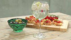 Een lekker drankje voor vandaag: Martini e tonic