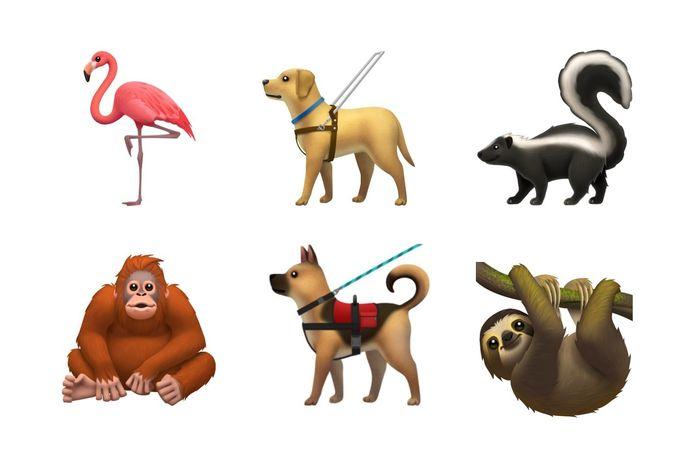 De nieuwe dieren bij Apple.