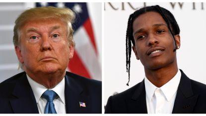 "Daarom is het team van Donald Trump teleurgesteld in A$AP Rocky: ""Eén telefoontje was genoeg geweest"""