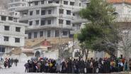 Syrische rebellen en regime sluiten deal voor evacuatie van 60.000 burgers