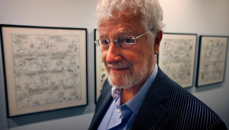 Striptekenaar Jan Kruis in 2013. Beeld anp