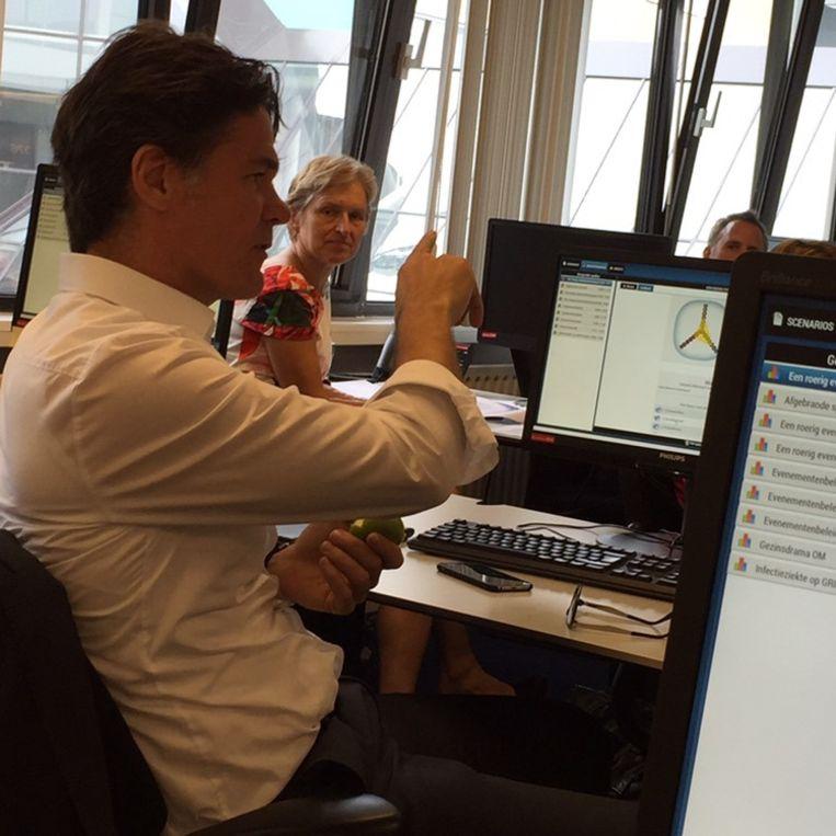 Paul Depla: burgemeester over 300 evenementen. Beeld