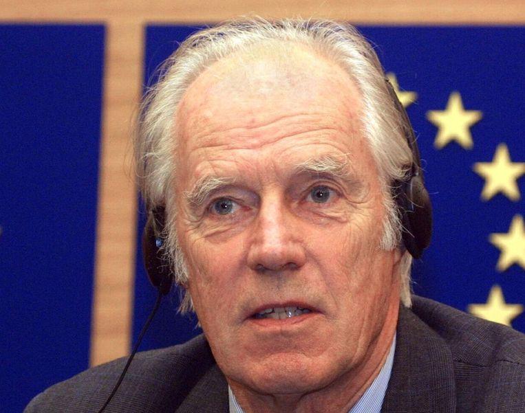 George Martin in 2001. Beeld afp
