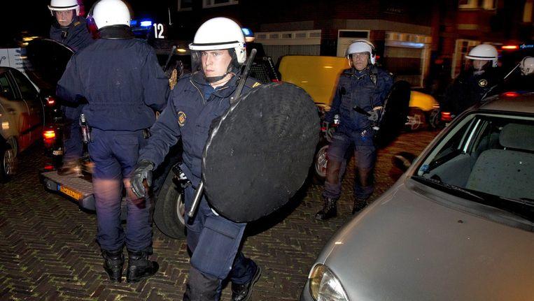 Het geweldsmonopolie hoort volgens Achterhuis bij de overheid te liggen. Beeld ANP