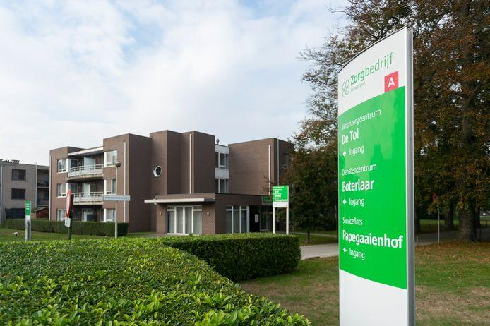 WZC De Tol in Deurne, zwaar getroffen door het coronavirus. Ruim de helft van de bewoners is besmet.
