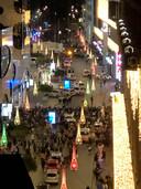 Ooggetuige Floris maakte deze foto vanaf zijn balkon aan de Grote Markstraat
