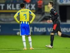 Het shirtje van vriend Madueke is een schrale troost voor RKC'er Ngonge: 'PSV straft de fouten af'