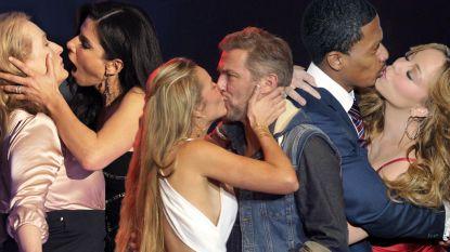 Ook zij deden al 'een Lindeke': de gênantste kussen van BV's en sterren op een rijtje