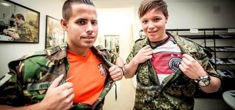 Koning bezoekt Duits-Nederlands legerkorps en medisch centrum in Münster