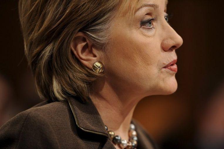 Ook John McCain schaarde zich achter Hillary Clinton (foto), aanvoerend dat de kiezers willen dat de regering snel en efficiënt aan de slag gaat. Foto EPA/Shawn Thew Beeld