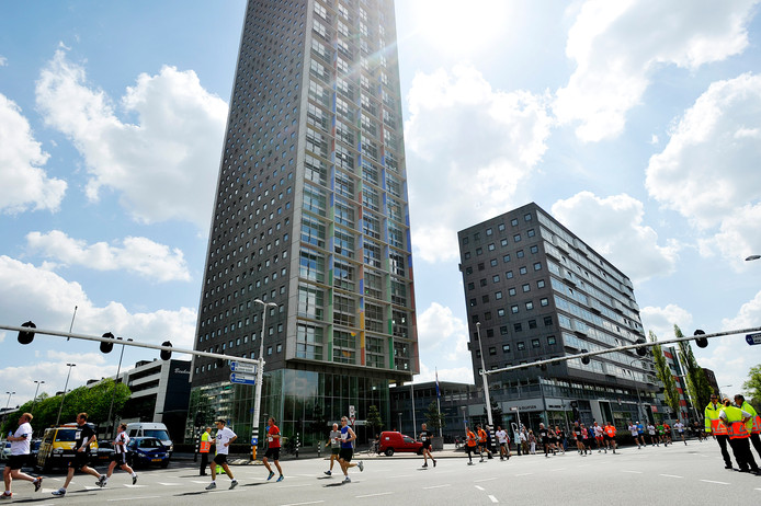 Omdat er nog geen Tilburgse marathon is gelopen: beeld van Rondje Tilburg. Foto BeeldWerkt