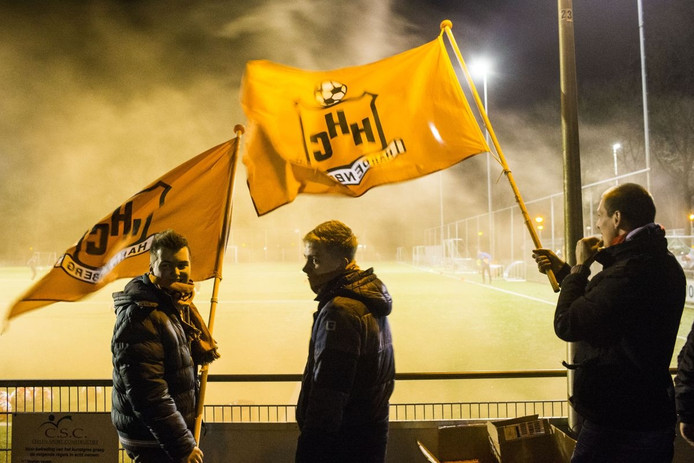 Sfeerbeelden training HHC Hardenberg voor de KNVB bekerwedstrijd tegen AZ