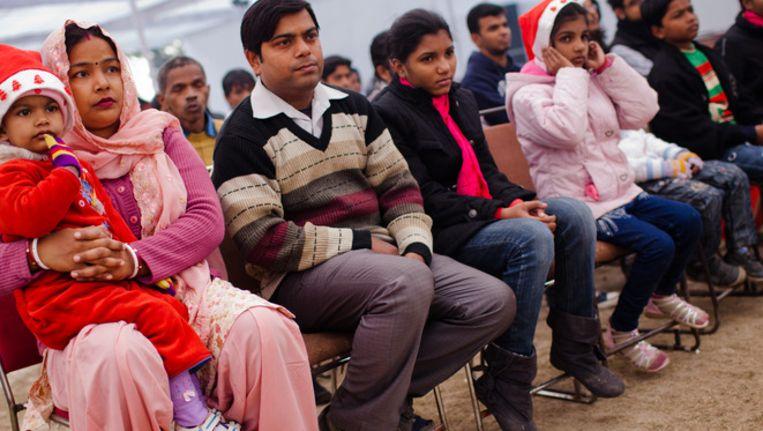 Een Indiase familie. Beeld getty