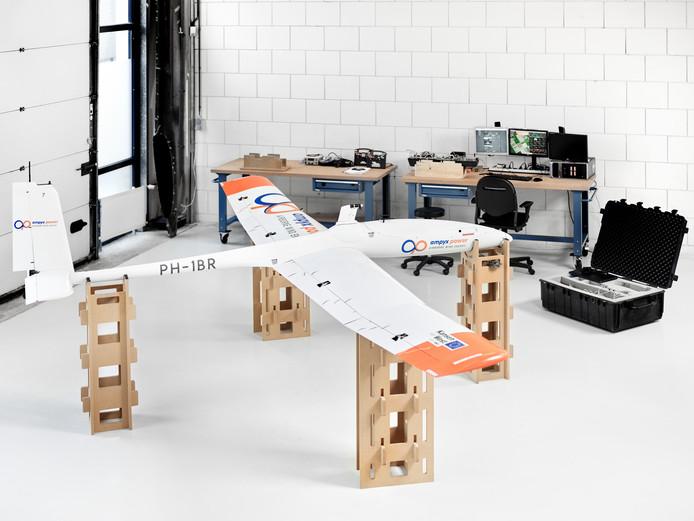 Het laatste prototype, waarme zaterdag op Seppe een demonstratie mee wordt gehouden door Ampyx Power.