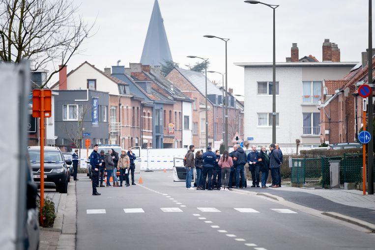 Archiefbeeld van de steek- en schietpartij op de Tervuursesteenweg die de aanleiding vormde voor het actieplan.