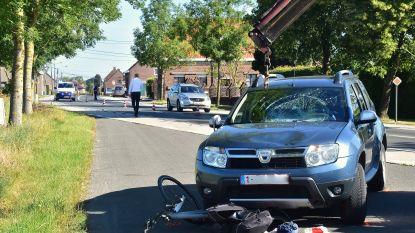 Jonge automobiliste schept fietsster: slachtoffer (48) kritiek