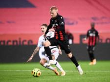 Botman komt met Lille doelpunt Dolberg te boven en pakt punt bij Nice
